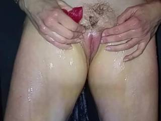 Watch me clean my pussy and ass real good! Now who wants to get dirty with me in the shower?