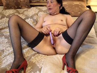 she looks to see if Olles dick is ready for some serious banging....and it was.