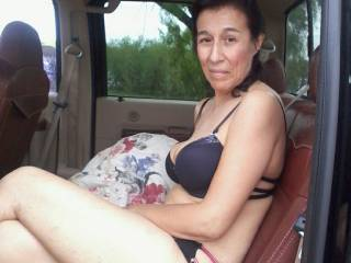 photo taken of mrs. Hernandez before having sex with her in the woods