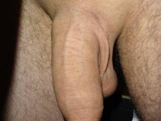 my shaved uncut soft cock... hope you like it?