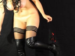 Snagged panties