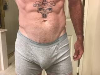 Realized that I haven't uploaded a picture in a while. Be sure to send naughty comments and messages for more!! If I get a couple of messages that are dirty enough I'll post a video jacking off..