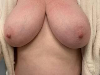 Wife's amazing tits