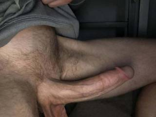 Just so horny enjoying my cock