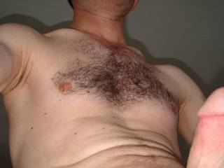only hairy chest