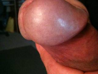 I cannot believe with such a beautiful cockhead, no comments for three days, I would gladly suck your cock or anybody's with a head like this one, especially while my wife watches