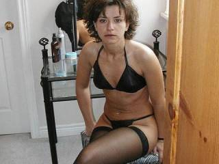 So very intriging Sultry Hotttt, Seductive and serious!  Has me wanting to seduce you peeling back your sexy lingerie slowly building in intensity bringing you to a more than amazing mind blowing crescendo and see the satisfied smile on your beautiful face.