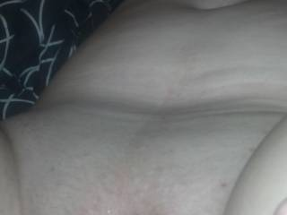 we just got done fucking she is filled with cum