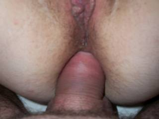 Sexy, love to help part her lips with my cock while her ass was pounded too mmmmmm