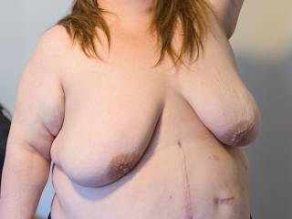 do you like her big saggy tits?