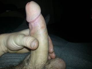 you can show that to me anytime....got me rock hard looking at that long, thick cock with that beautiful head :-)