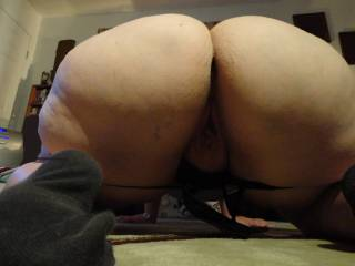 You know damn well most of the men on here can't handle all that ass like me. They don't have a big enough dick to hit the bottom and that's what you need.