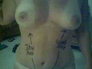 Hope you two guys like that I let another lady write this on me. LOL