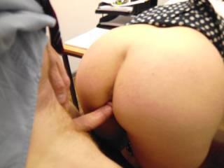 I wish I can fuck you hard and balls deep like this while I'm squeezing your big tits...