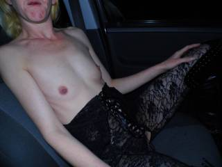 You're showing great restraint, I'd have had to pull over and fuck her!