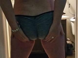 Modelling my new bikini from Mr. IKPM :-D