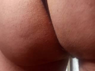 My black thong