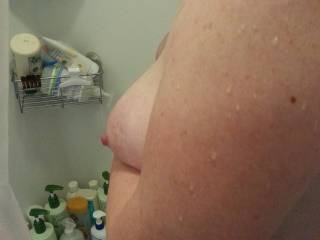 Side boob as hubby calls it!