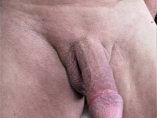getting it up. hard smooth cock.