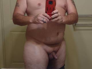 Analbuster79 showing off his cock.what do y\'all female\'s think about it