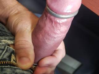 Just a thick ringed office cock for your viewing pleasure😈
