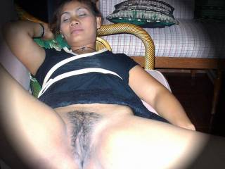 Ann, my new girlfriend loves to show her pussy...