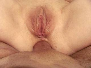 Great view of your pussy....inner AND outer lips are making even my tongue throb!