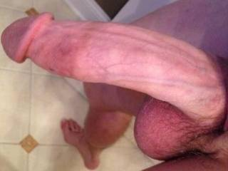 I'd enjoy sucking on your hanging out cock...A delicious dangling cock gets to me every time.  I'd suck you off.  Mrs. K
