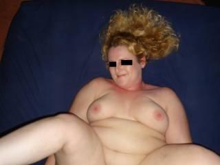 hotwife N spread while hubby fucks her
