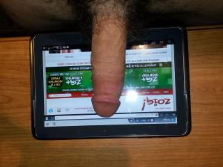 My cock always gets hard when I'm on ZOIG!