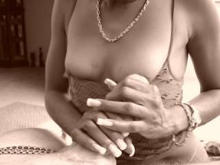 Looks great Zorra! Love those big nipples!