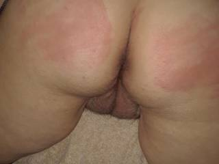 That's it, I'm mounting her sweet ass now. Waited long enough !! Isn't that a beautiful pussy and ass ?? It's so unbeivably good. So hot and wet.  Ready to be used !!
