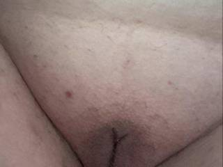 Kiki's belly and nice fat pussy!