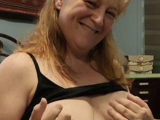 You look extra sexy today. Want to watch me play with my pussy over you? Just so you know, the harder you get, the wetter I get.
