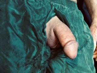 Silk boxers.
