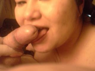 Just more of Minh with my cock rubbing on her face and lips. Even though she had never experienced a dick rubbing all over her face before, she couldnt get enough. Especially when I rubbed hot cum all over her face with it. She wanted more dicks