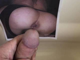 Blowing my load for Marcia of marciaandtom. Love that nice ass and beautiful holes darling!