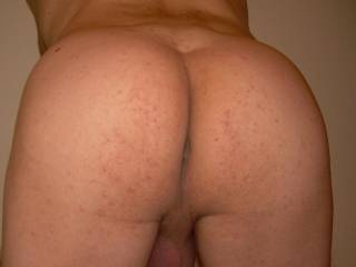 Sexy bare ass, lovely firm cheeks and divine crack