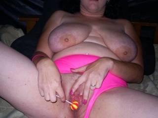 Gorgeous tits and juicy hot pussy. Allow me to plant in that pussy