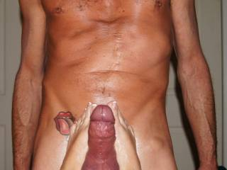 I'd like to ride your cock while your wife rides my husbands