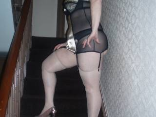 How likes nylons and heels