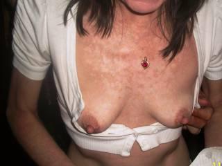 Really LUV your BIG nipples ! ! !