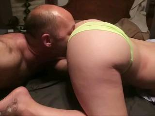 gotta lick that sweet pussy before I slide this big dick in deep!