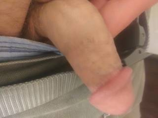 Wanting a female to make it hard!  And fuck me good!