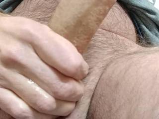 my hard cock, good to go