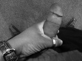 Fat dick in B&W