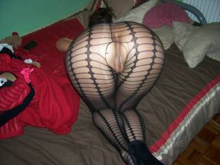 buttocks and a brassiere that look good ,