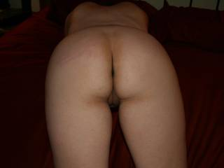 Very tasty, both hole look delicious, love to make you cum with my tongue, then slide deep, deep inside your throbbing pussy while your husband and my wife watched, and eventually joined in Ms.M &Mrs.M