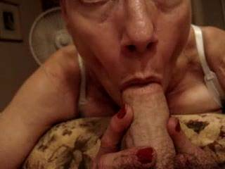 After watching the clips of your pussy and your sexy ass, I just had to watch a video of you sucking a cock.  Looks nice....I want you to suck MY cock too!  Why not? You already have it throbbing!!!