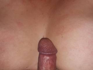 Just before tits fucking my girl